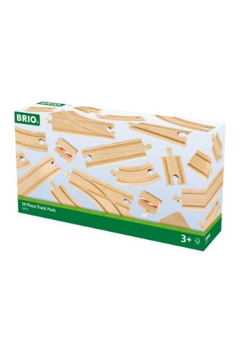BRIO 50 Piece Train Track Pack