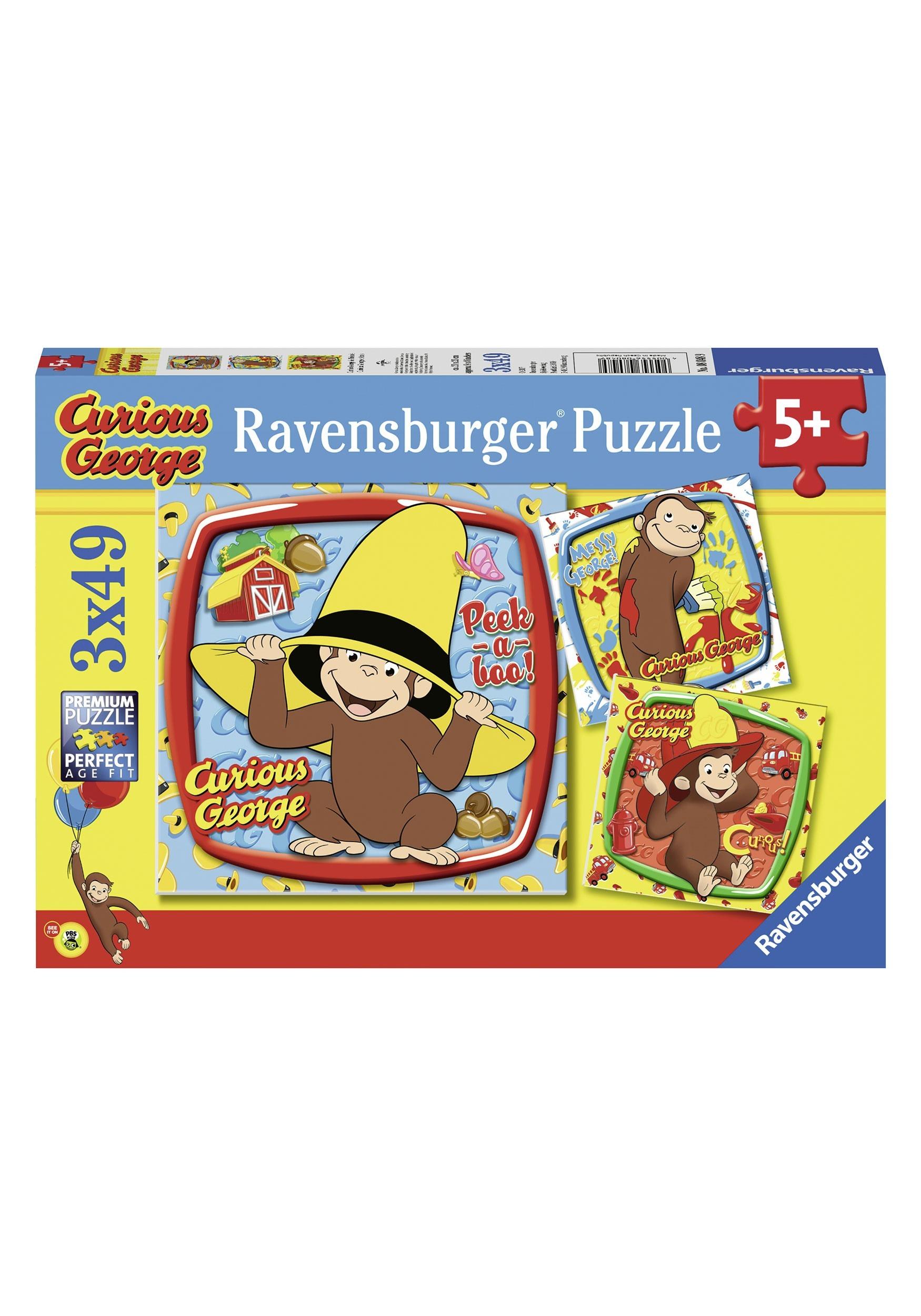 Curious George Christmas Light Game Hoodie