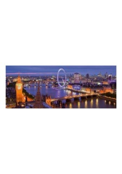 Ravensburger London at Night 1000 Piece Panorama Puzzle