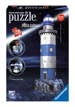 Lighthouse 216 Piece Ravensburger 3D Puzzle