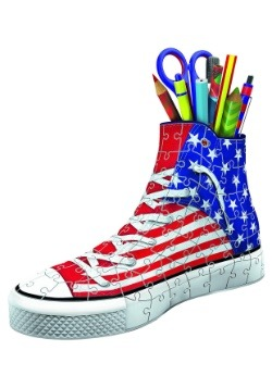 American Flag Sneakers 108 Piece Ravensburger 3D Puzzle