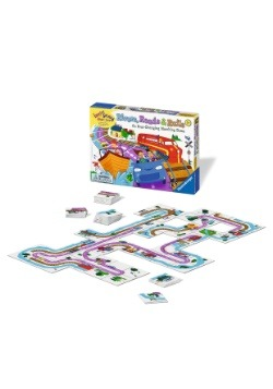 Rivers, Roads & Rails - An Ever-Changing Match Game