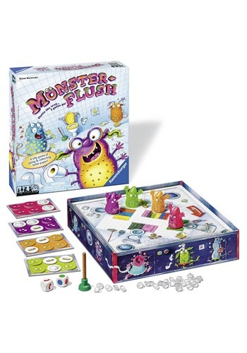 Monster Flush Children's Board Game