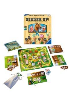 Bidder Up! Family Board Game