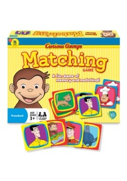 Curious George Matching Card Game