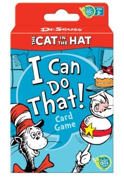 Dr. Seuss The Cat in the Hat I Can Do That! Card Game
