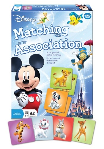 Disney Matching Card Game
