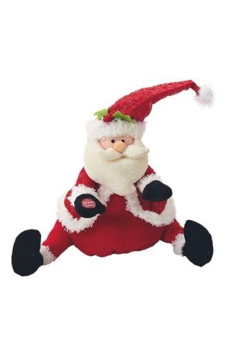 "11.5"" Singing & Dancing Santa Plush Decoration"