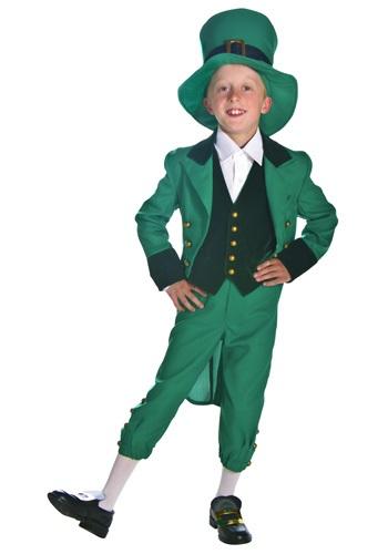 Little Leprechaun Boys Costume