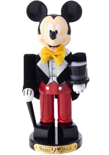 "10"" Mickey Mouse in Tuxedo 90th Birthday Nutcracker"