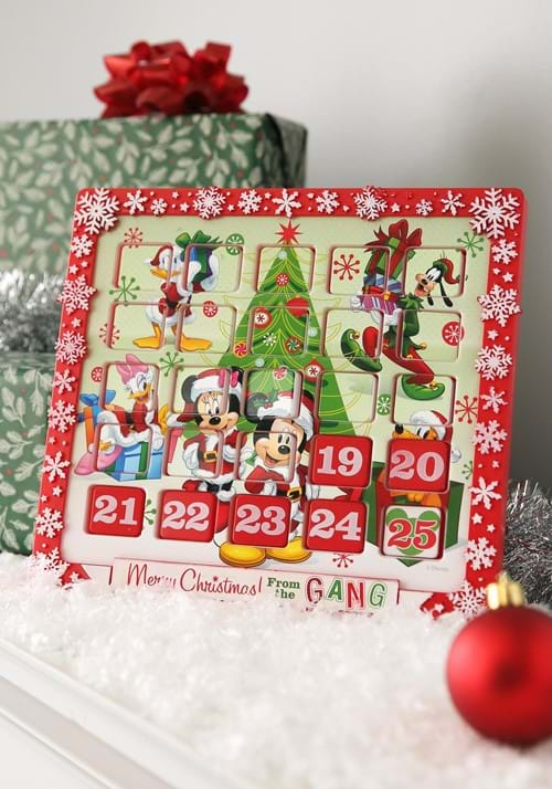 "9.5"" Mickey & Friends Advent Calendar"