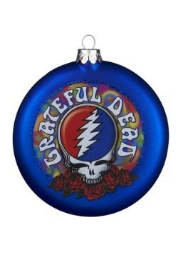 Glass Grateful Dead Disc Ornament