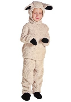 Woolly Sheep Kids Costume
