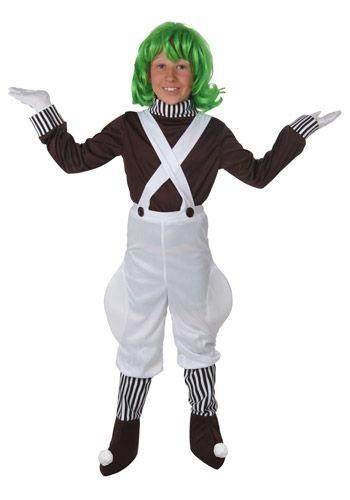 Oompa Loompa Kids Costume