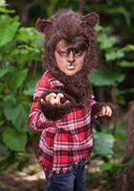 Scary Fierce Werewolf Boys Costume Alt 7