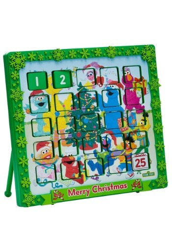 "9.5"" Sesame Street Christmas Advent Calendar"