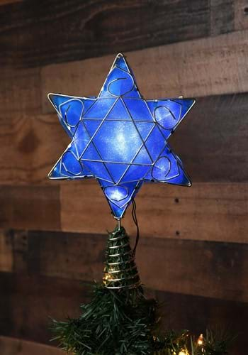 Hanukkah Treetopper w/ LED Lights