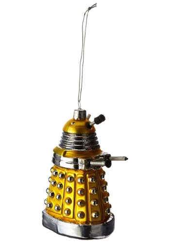 "Doctor Who Yellow Dalek 5"" Ornament"