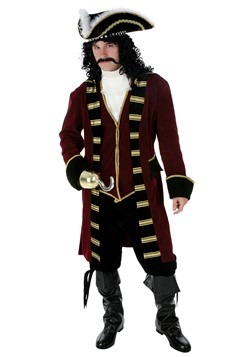 Mens Ultimate Captain Hook Costume Alt 4