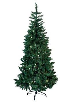 6' Pre-Lit LED Green Pine Tree