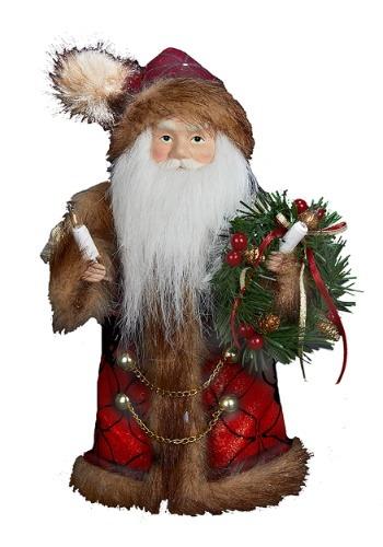 """10"""" Santa Tree Topper"""