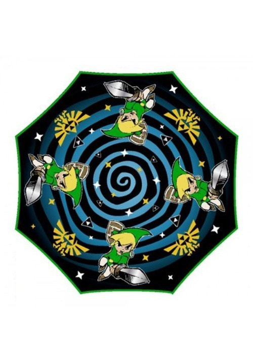 Nintendo Zelda Liquid Reactive Color Changing Umbrella2