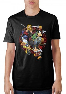Men's Kingdom Hearts Battle Tee