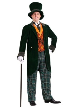 Plus Size Mad Hatter Deluxe Costume