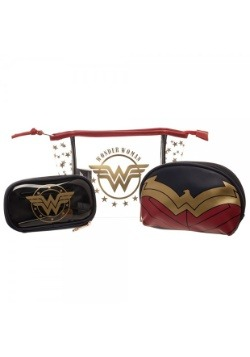 Wonder Woman Jrs. Cosmetic 3 Piece Set