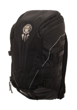 Black Panther Mixed Material Laptop Backpack5