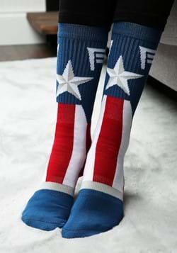 Marvel Captain America Suit Up Crew Socks