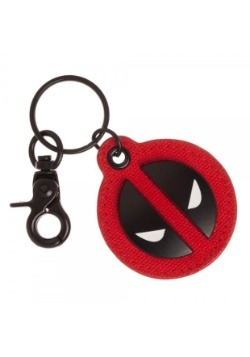 Deadpool Canvas & Metal Keychain