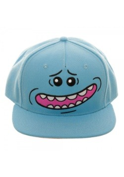 Rick and Morty Mr. Meeseeks Big Face Snapback