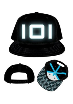 Ready Player One Blue Glow in the Dark Thread Black Snapback