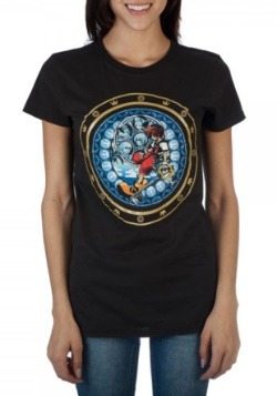 Kingdom Hearts Logo Juniors Tee