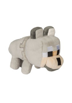 Minecraft Happy Explorer Untamed Wolf 8.5 inch Plush