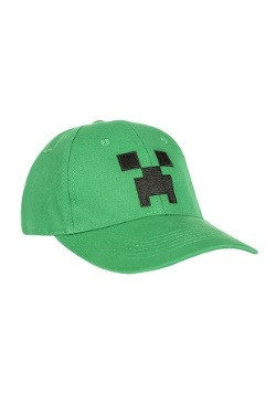 Snap-back Minecraft Creeper Hat