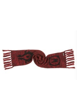 World of Warcraft Horde Knit Scarf