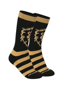World of Warcraft Alliance Knit Socks