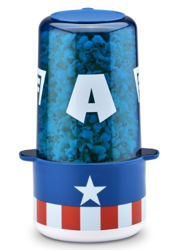Captain America Mini Stir Popcorn Maker