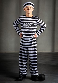 Boys Prisoner Costume