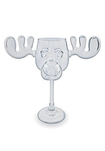 Christmas Vacation Moose Mug Wine Glass