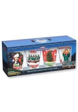 Christmas Vacation 16 oz Pint Glass 4 pc Set