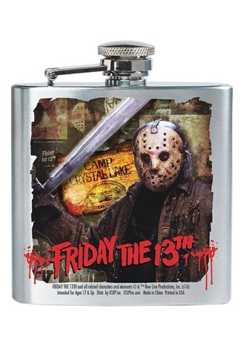 Friday the 13th Jason 8 oz Flask