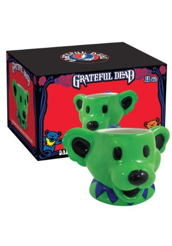 Grateful Dead Dancing Bear 18 oz Molded Mug