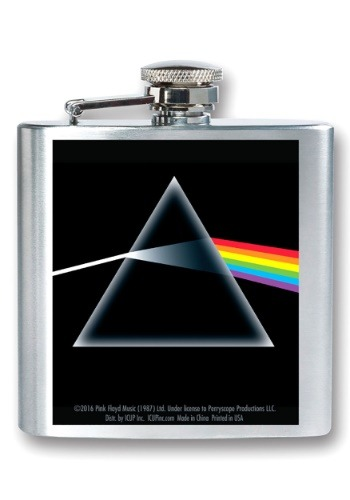 Pink Floyd Dark Side of the Moon 8 oz Flask