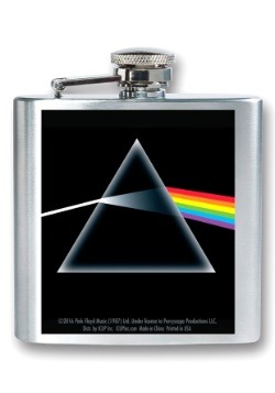 Pink Floyd Dark Side of the Moon 8 oz Flask