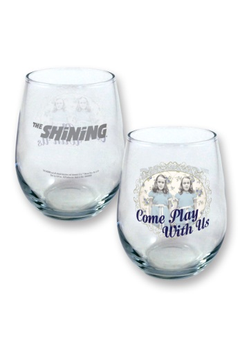 The Shinning Come Play With Us 21 oz Table Glass