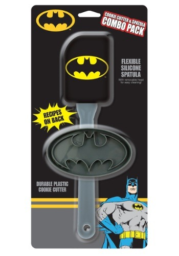 Batman Cookie Cutter & Spatula Combo Pack