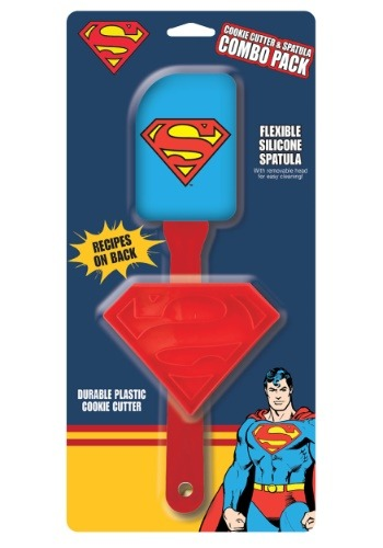 Superman Cookie Cutter & Spatula Combo Pack